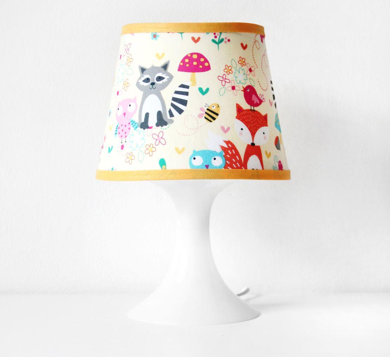 süßer Lampenschirmbezug mit Fuchs & seine Freunde - nähfein ...