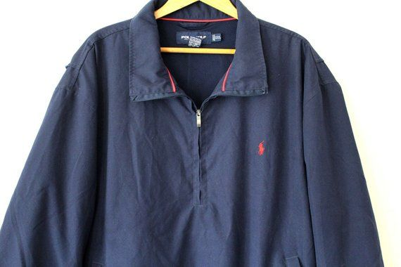 87781cf4 Vintage POLO GOLF Windbreaker, 90's Polo Ralph Lauren Sweatshirt ...
