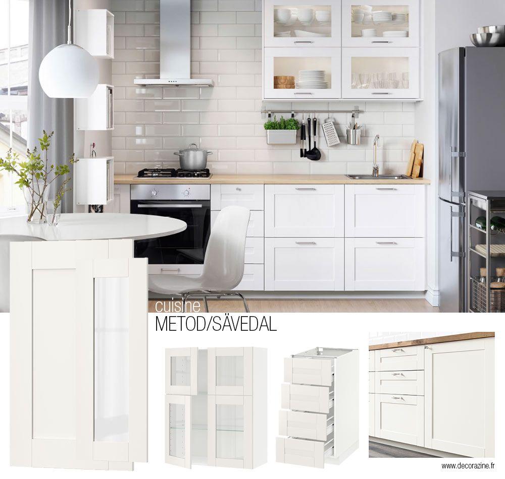 Resultat De Recherche D Images Pour Cuisine Ikea Hyttan Savedal Savedal Kitchen Ikea Kitchen Decor Apartment Kitchen Remodel Layout