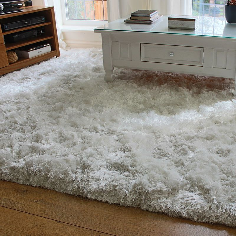 White Ultra Thick Plush Shaggy Rug Shaggy Rug Rugs Fluffy Rug