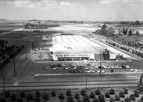 1954 Alpha Beta Market La Habra Ca California History Los Angeles History Whittier California
