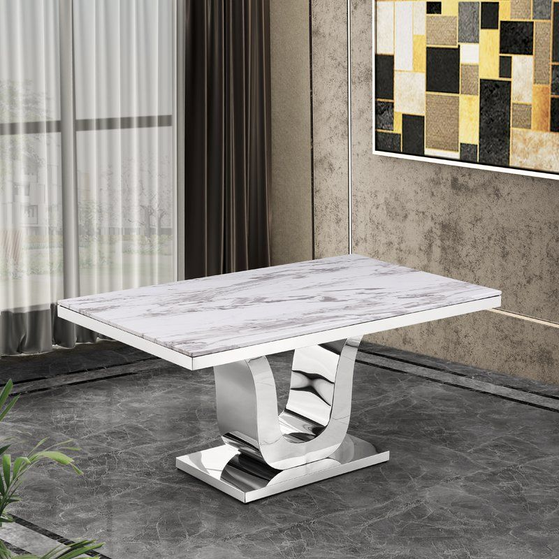 Maltby Marble Dining Table Dining Table Marble Dining Table