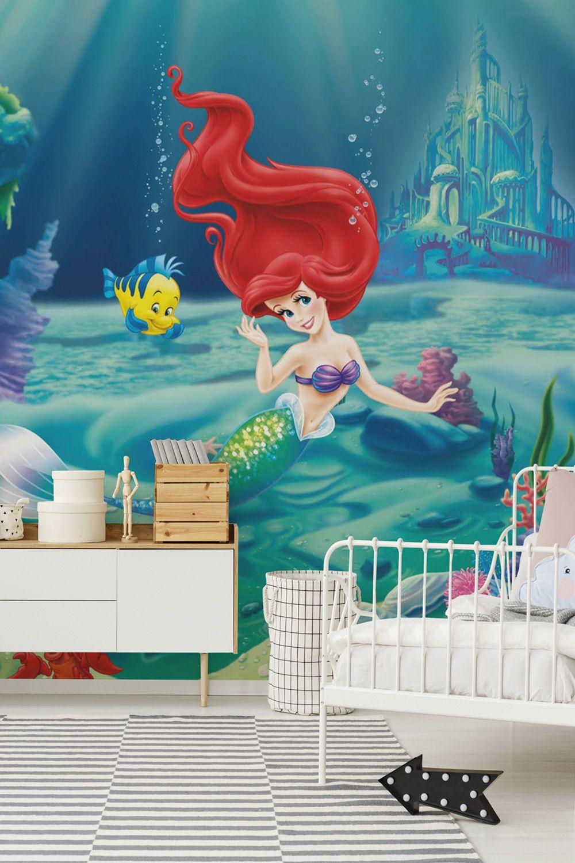 Arielle die Meerjungfrau verschönere die Wand im
