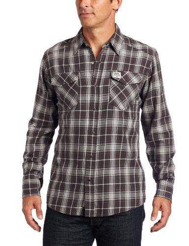 a71a30ec9cb Carhartt Men s Series 1889 Long Sleeve Snap Front Flannel Shirt  24.92 -   39.99