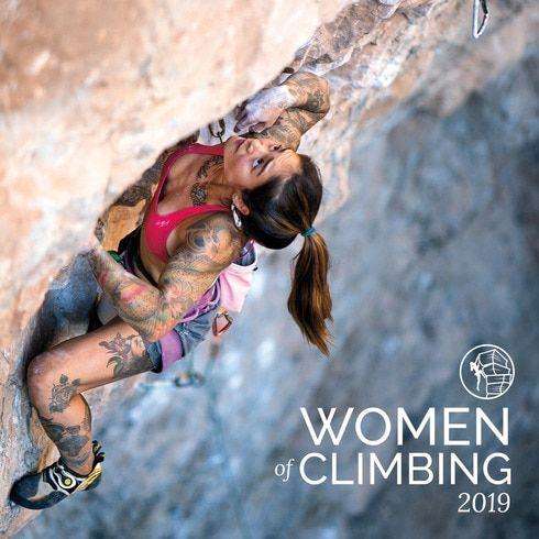 2019 women of climbing calendar in 2020  rock climbing