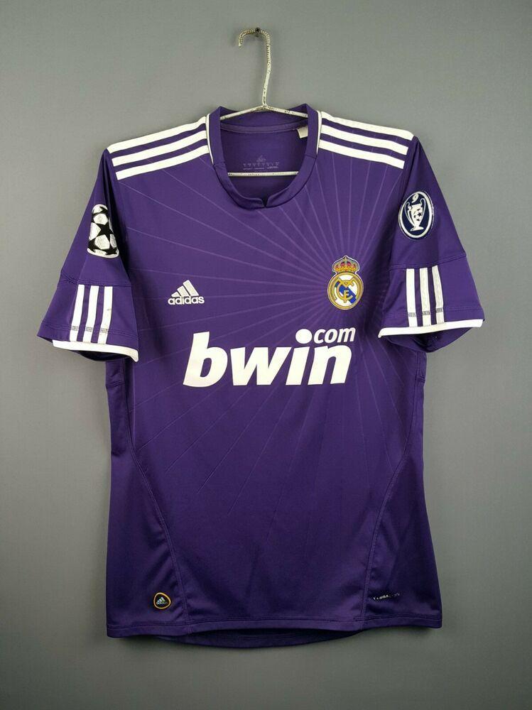 Advertisement Ebay 4 7 5 Real Madrid Jersey M 2010 2011 Third Shirt Soccer Football Adidas Ig93 Soccer Shirts Soccer Shirts