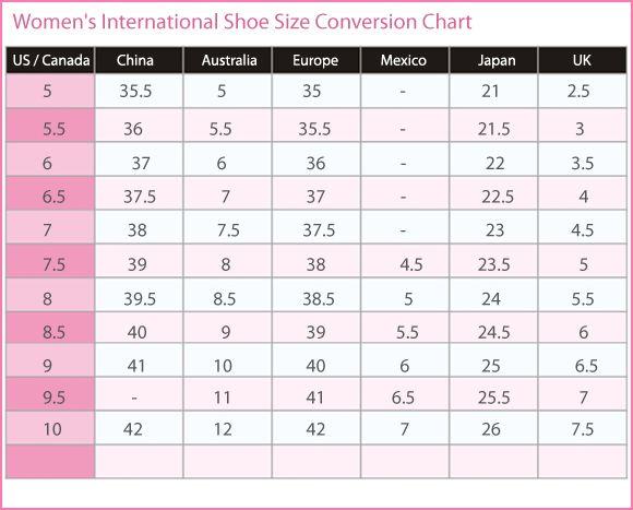 Discover ideas about shoe size chart also women   international conversion canada rh pinterest