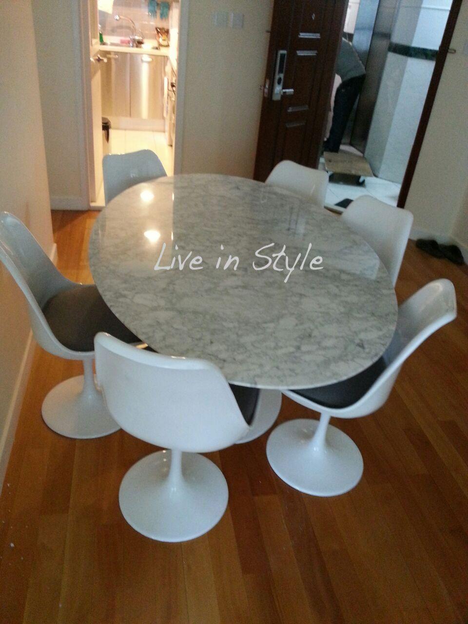 Tulip Style Dining Table Oval