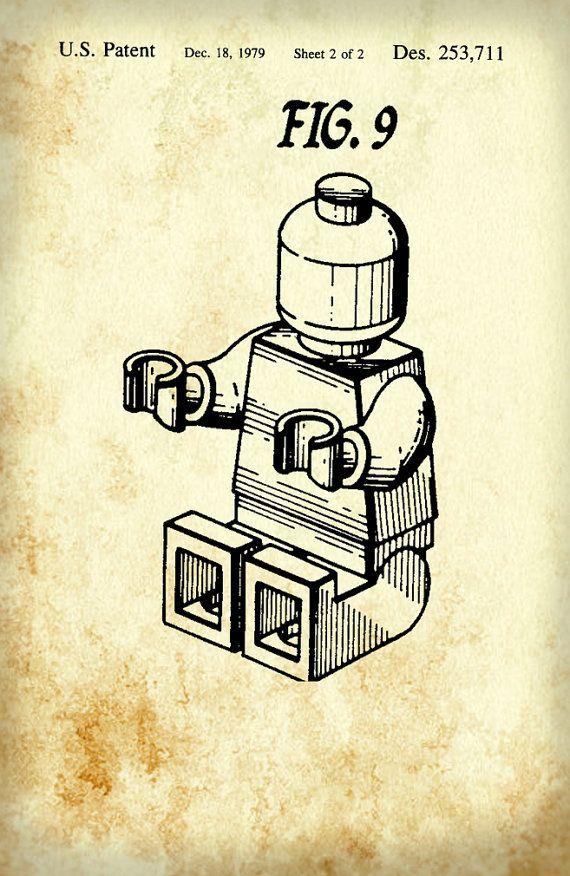 Lego patent blueprint art of a lego figure man person no10 lego patent blueprint art of a lego figure man person no10 technical drawings engineering drawings patent blue print art item 0083 malvernweather Choice Image