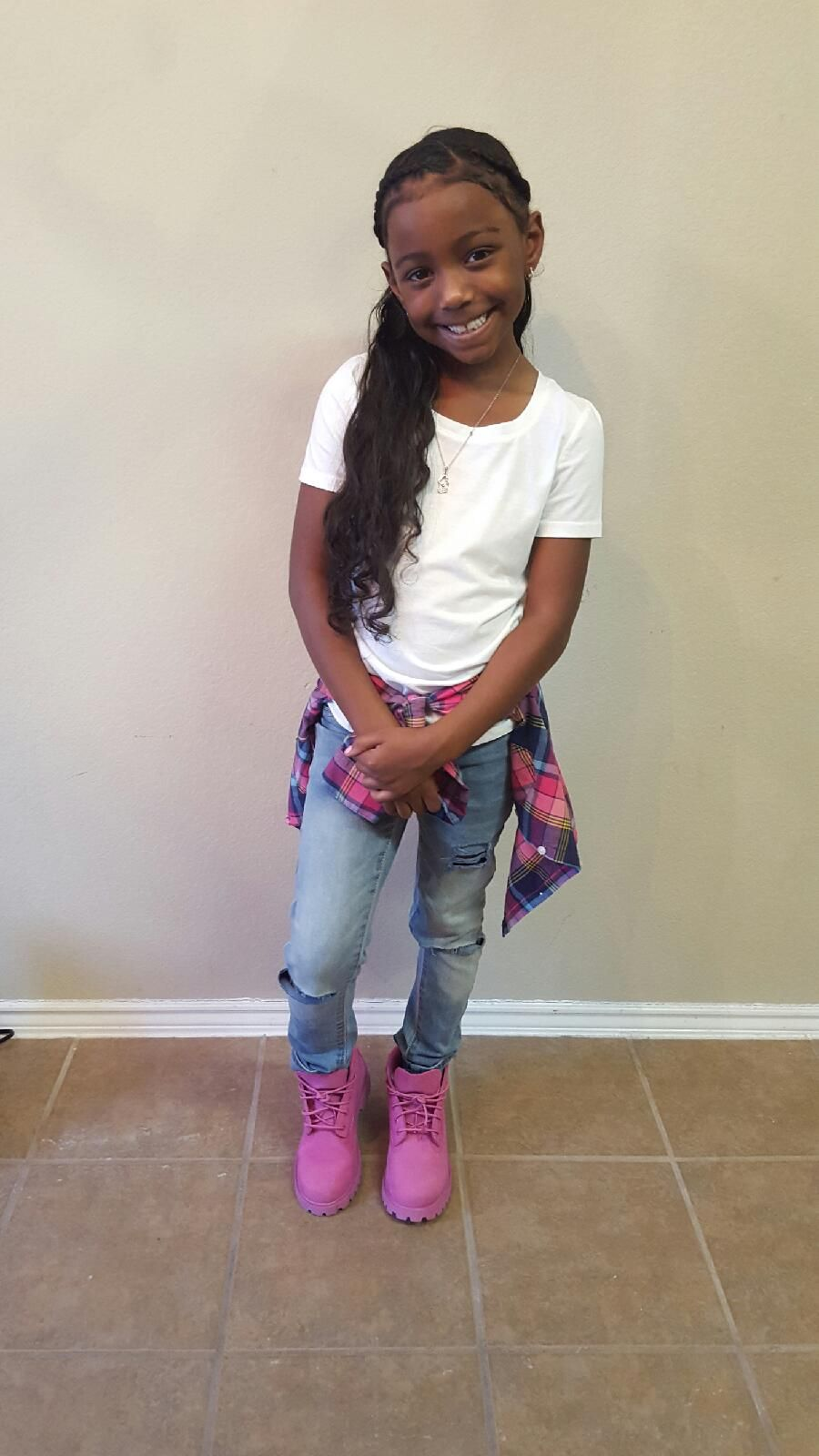 Girls Swag Timberland Outfit Pink Timbs Cute Kids Pretty | Gimme That Look | Pinterest ...