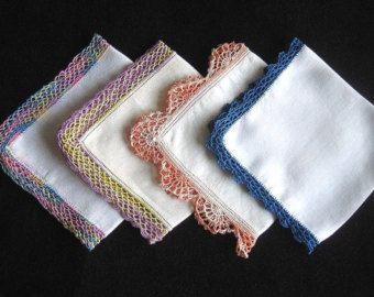 handkerchief crocheted lace – Etsy