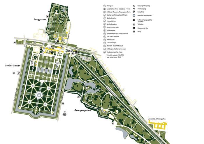 Herrenhauser Garten Die Pracht Von Niedersachsen Garten Grosser Garten Haus