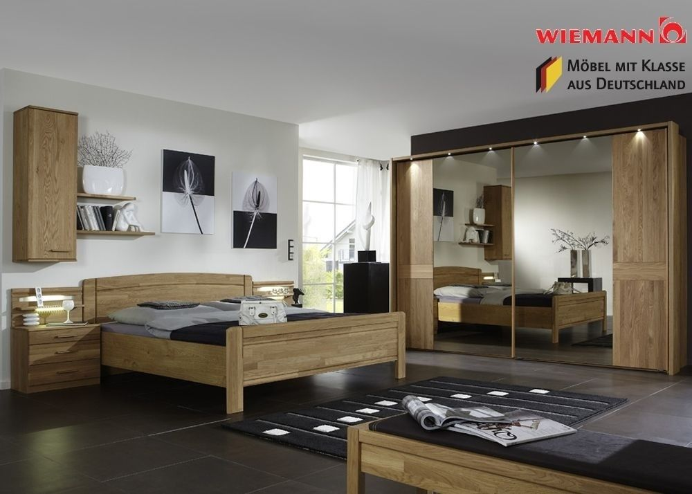 Schlafzimmer komplett Holz Eiche Massiv Neu 3778. Buy now at https ...