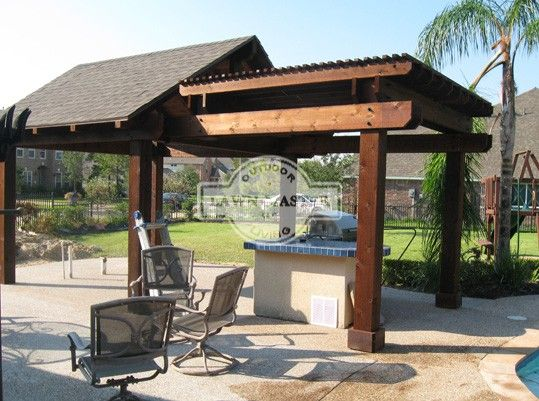 gable pavilion 04 pergolas and pavilions pinterest. Black Bedroom Furniture Sets. Home Design Ideas
