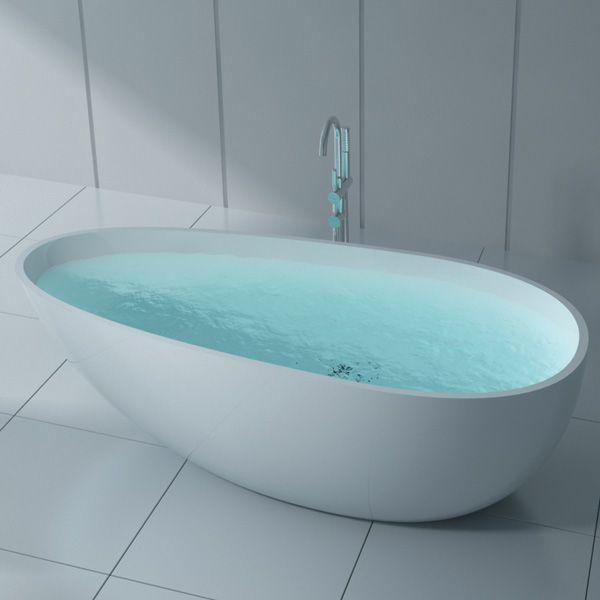 Nova Cast Stone Freestanding Bath | Bathroom | Pinterest ...