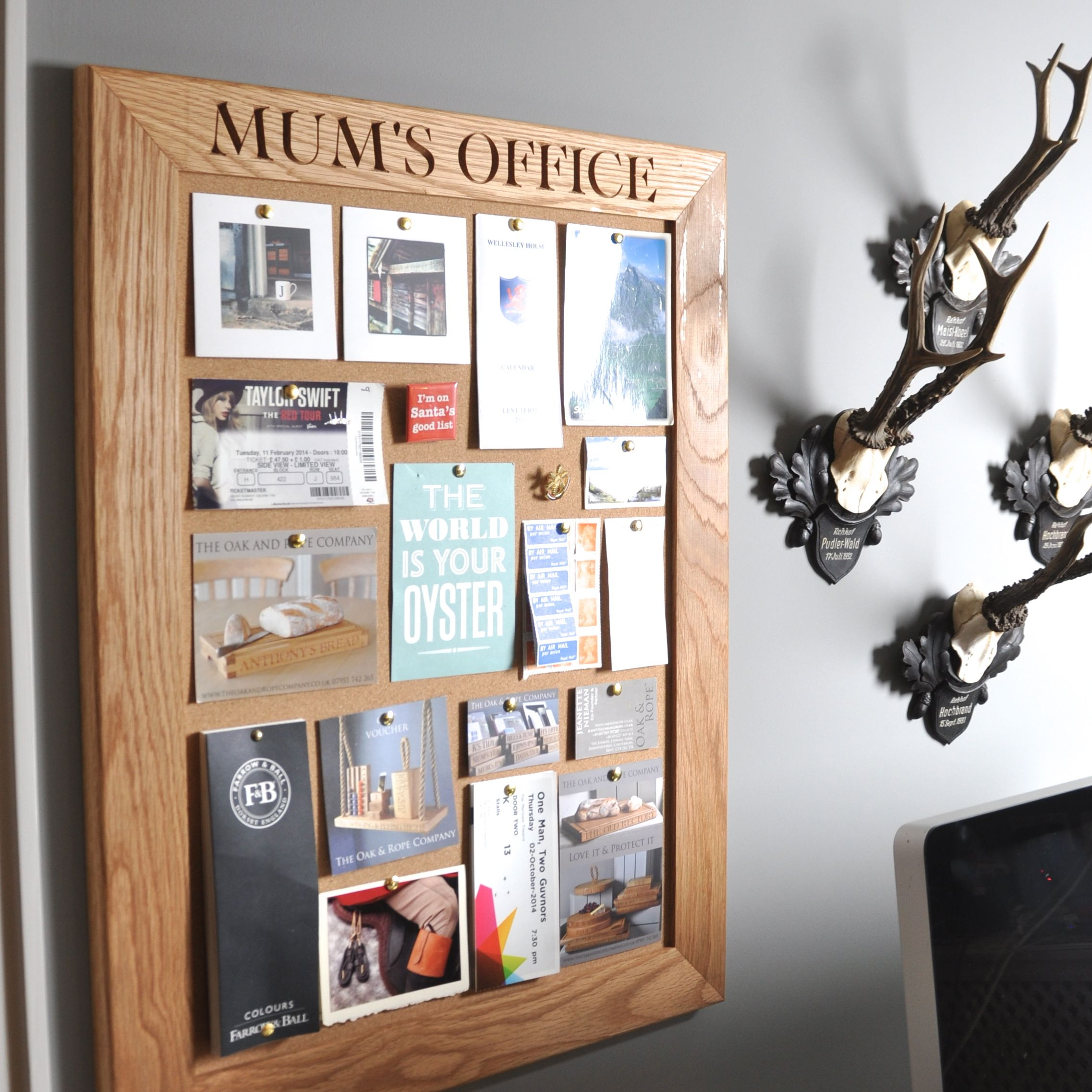 Mum S Office Cork Notice Chalk Board Wall Accessories Modern