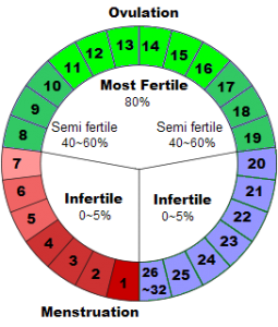 Menstrual cycle chart also health benefits natural birth control rh pinterest