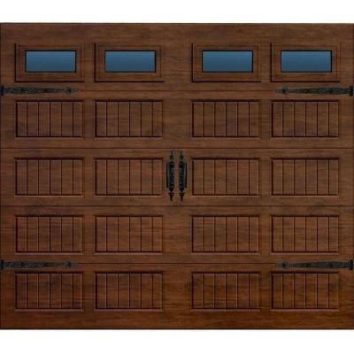 Martin Garage Doors Wood Collection Silverlake 9 Ft X 7 Ft Grooved