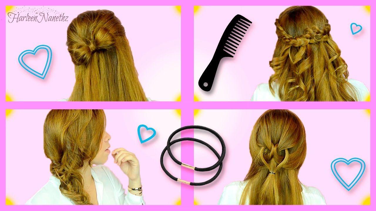 Peinados fÁciles y rÁpidos para el día a día top tips u tricks en