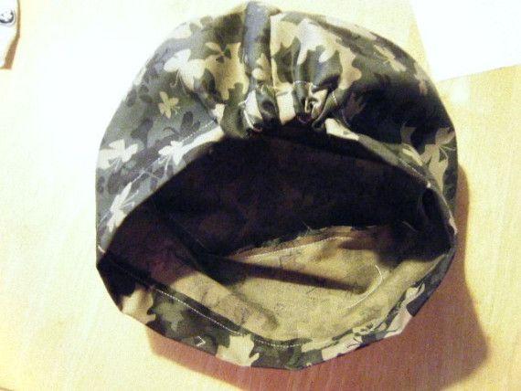 Scrub Hat Sewing Pattern Diy Slimline Scrub Hat Chef S Cap