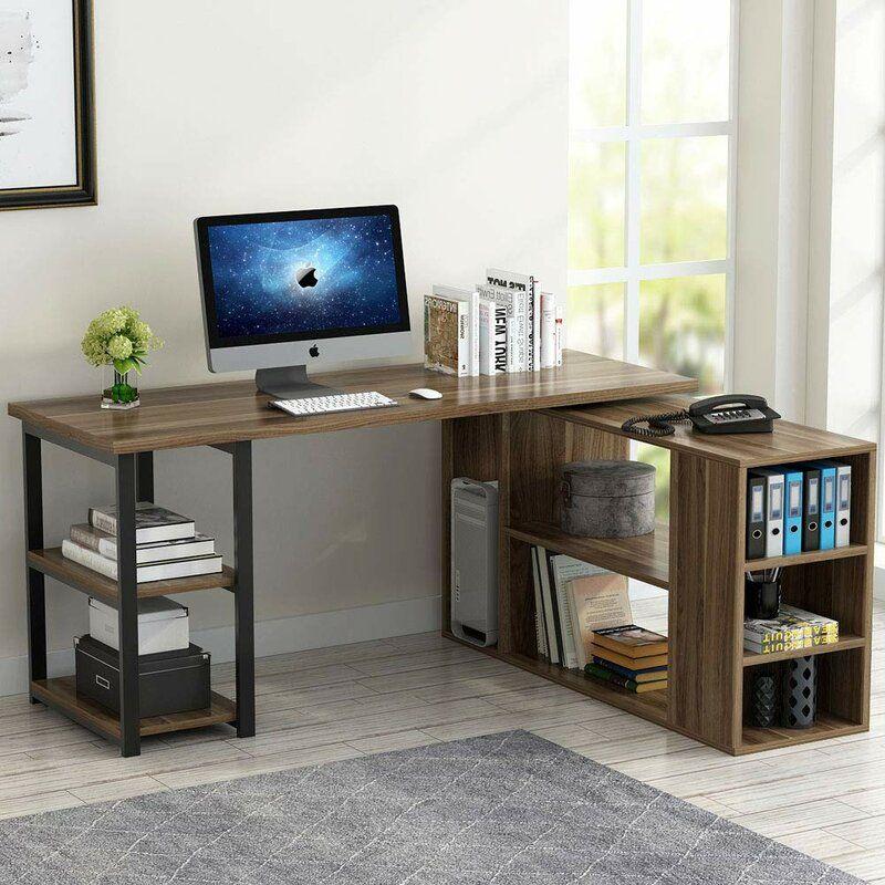 Magruder Reversible L Shaped Credenza Desk In 2020 Corner