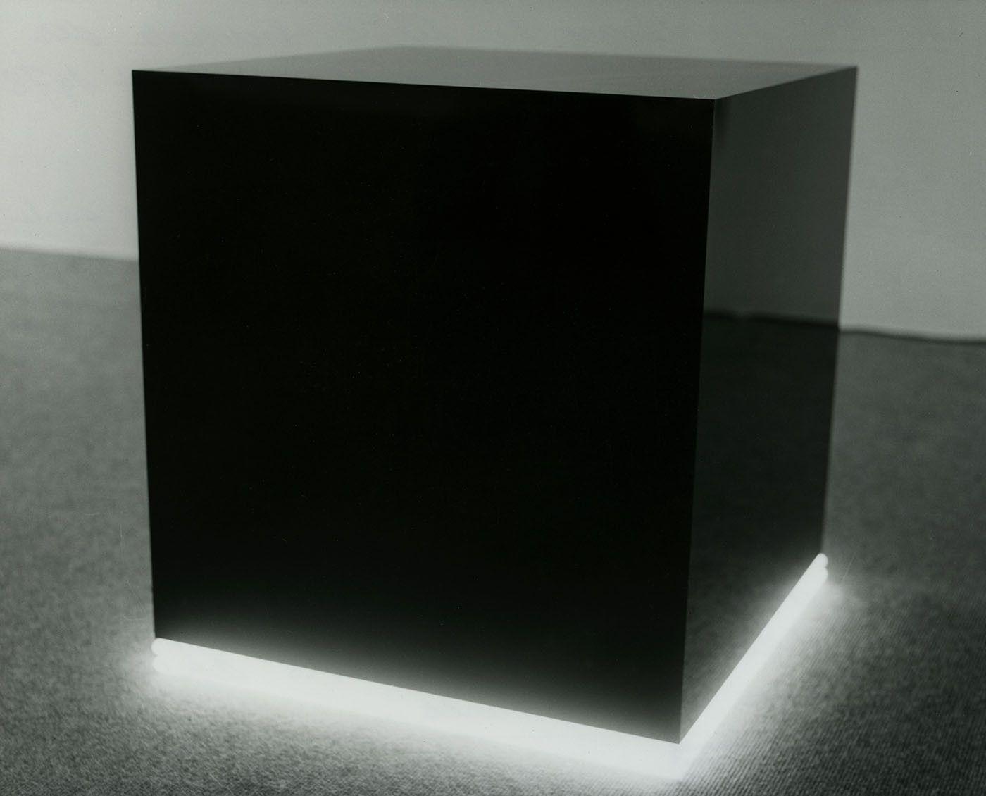 Christian Herdeg Black Cube 1974 Christian Herdeg