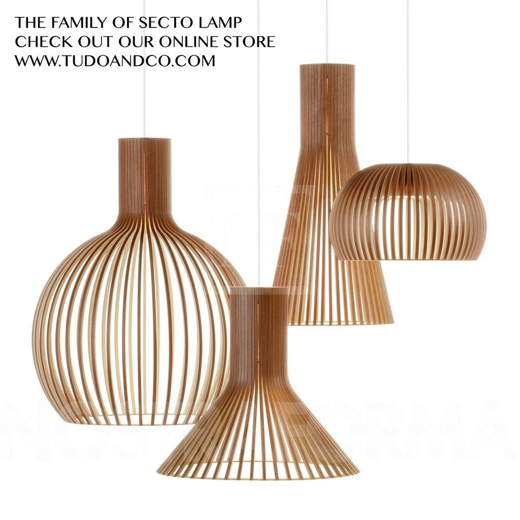 Secto Wooden Pendant Light In 2019