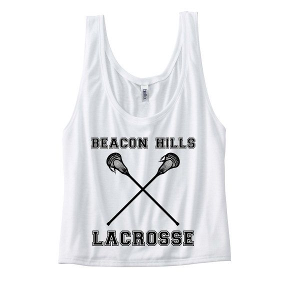Teen Wolf Beacon Hills Lacrosse Tank WITH Back by infinitewonder,