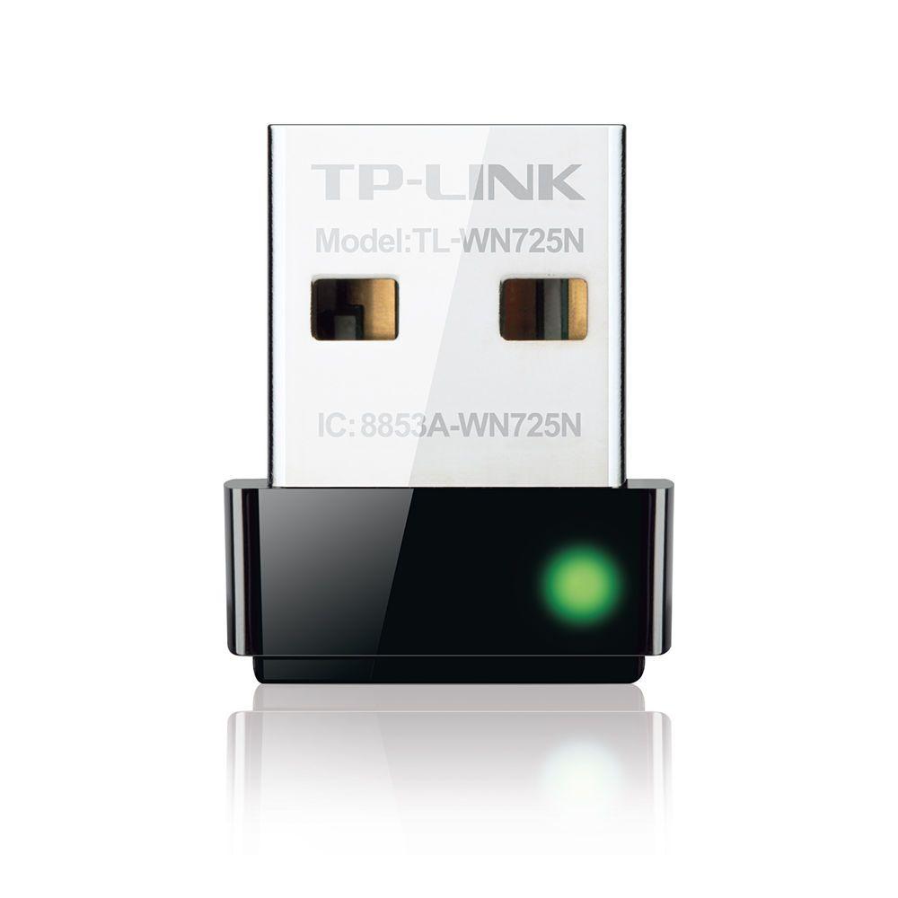 New Tp Link 150mbps Wireless N Nano Usb Adapter Tl Wn725n Wifi
