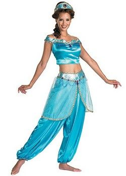 (Limited Supply) Click Image Above Adult Deluxe Jasmine Costume - Disneyu0027s Aladdin Costumes  sc 1 st  Pinterest & Jasmine Deluxe Costume (more details at Adults-Halloween-Costume.com ...