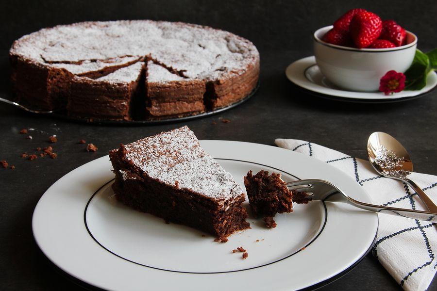 Torta Caprese Torte Ohne Backen Cremespinat Und Schokotarte