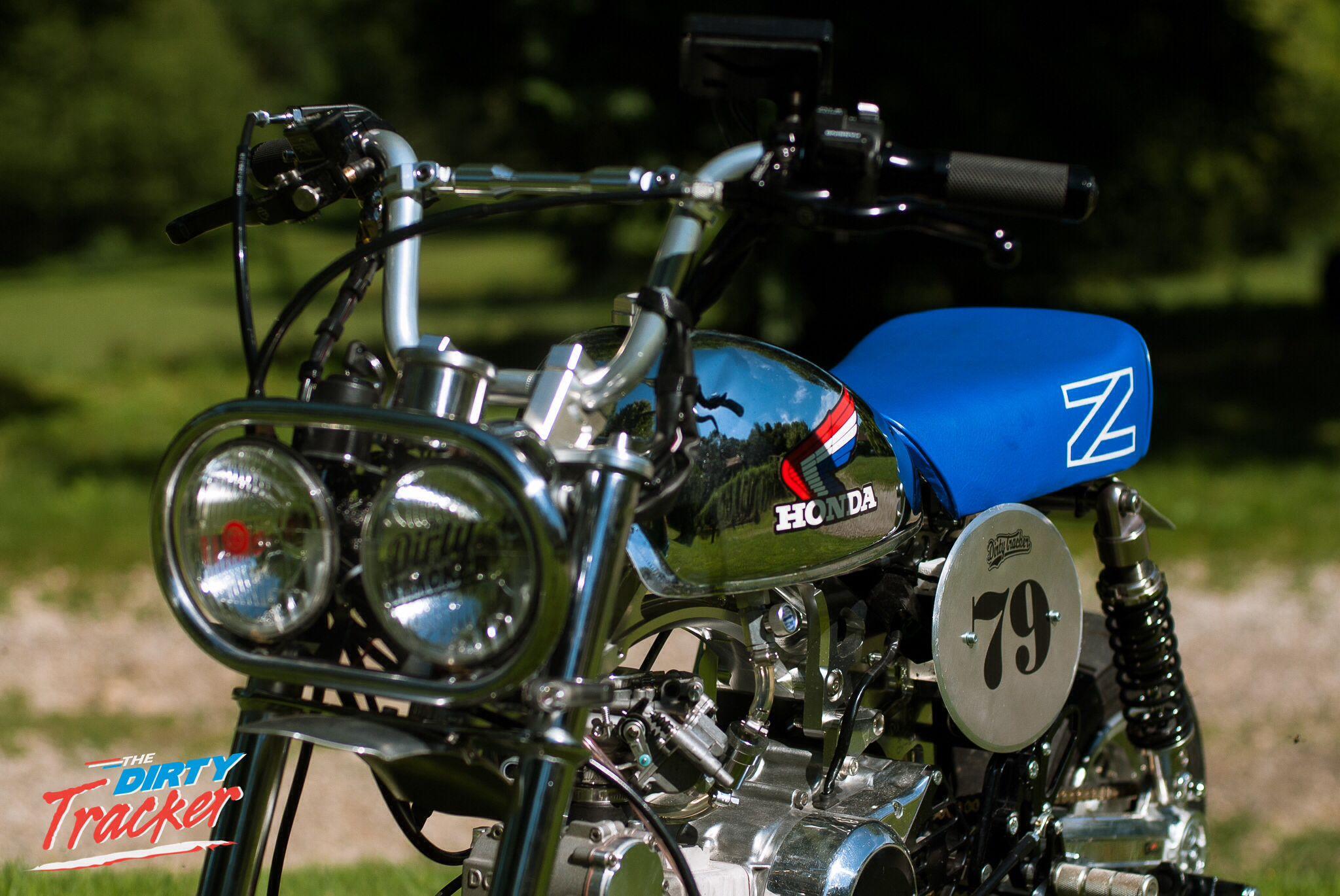 2014 | Honda Monkey Z50R Christmas edition ~ Dirty Tracker team | France #dirtytracker #monkey #monkeybike #z50 #z50j #z50j2 #z50r #minibike #bike #motorcycle #motorbike #moto #4stroke #4mini #japan #minitrail #honda #hondamonkey #mini4stroke #takegawa #instamotogallery #bikelife #instabike #takegawa #instamoto