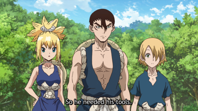 Dr Stone Review Episode 7 (With images) Anime, Kohaku
