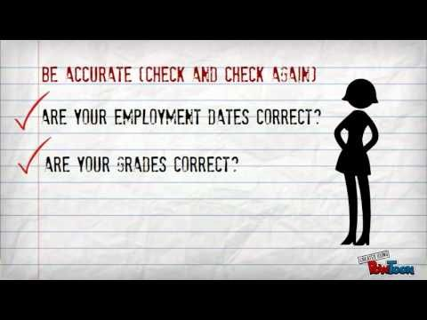 Top Tips For Completing Application Forms Youtube Avid