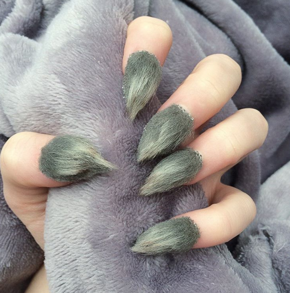 Image result for furry nails