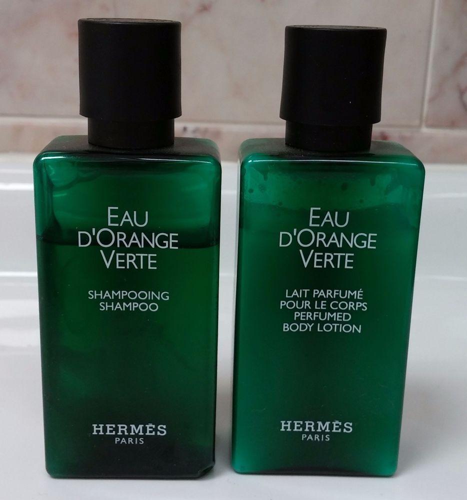Hermes Eau D Orange Verte Travel Size Shampoo Perfumed Body Lotion 1 35 Oz Travel Size Products Cosmetics Perfume Perfume