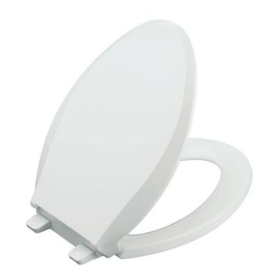 Amazing Kohler Cachet Quiet Close Elongated Closed Front Toilet Seat Pdpeps Interior Chair Design Pdpepsorg