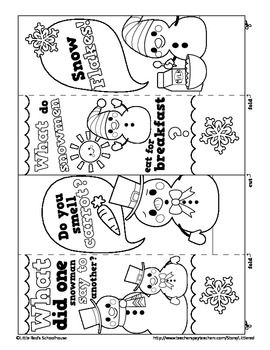 Teaching Resources Lesson Plans Bookmarks Kids Winter Fun Coloring Bookmarks