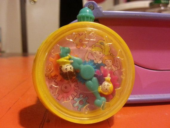 VTG 90's Polly Pocket toy watch MCD toy by SurrealE on Etsy