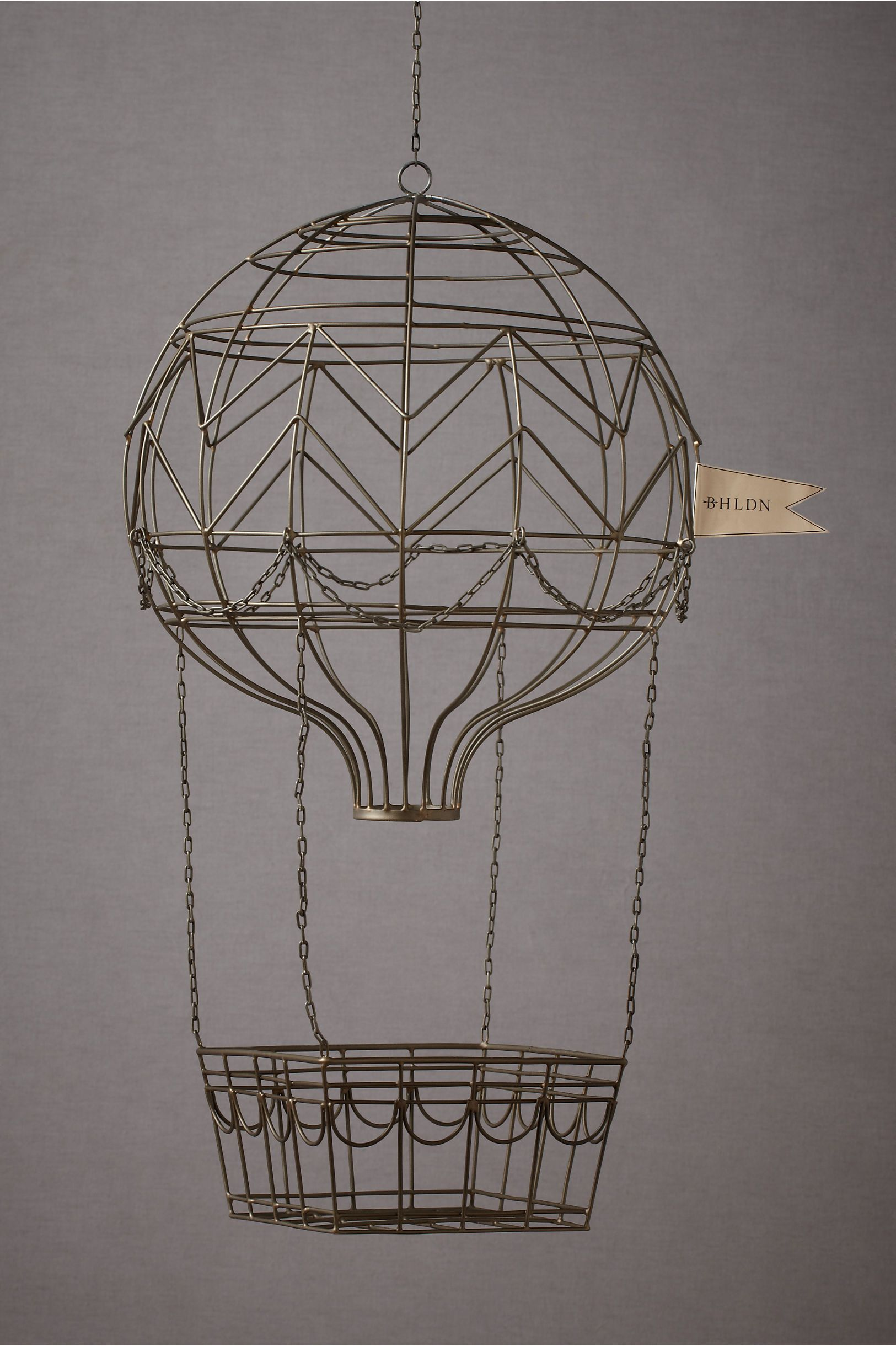 Hovering Hot Air Balloon in SHOP Décor Signage at BHLDN | Design ...