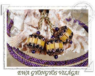 Ewa gyöngyös világa!: Tilatella nyaklánc +minta / Tilatella necklace+ pattern