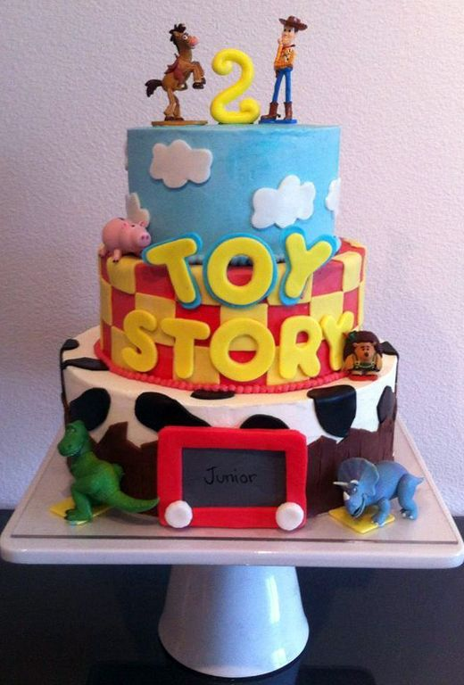 Toy Story Birthday Cake Design Created By Lisa Peppers Pastry Chef