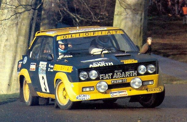 Rally Legend Fiat 131 Abarth Lombard Rally Fiat Rally Car