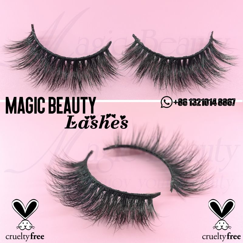 1c9983a8a7a Fluffy 3D Mink Lashes with cruelty free WhatsApp:+86 13210148867  Email:sale01@magicbeautylashes.com Qingdao Magic Beauty Co., Ltd