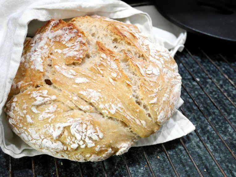 Pataleipä - No knead bread. Deli!