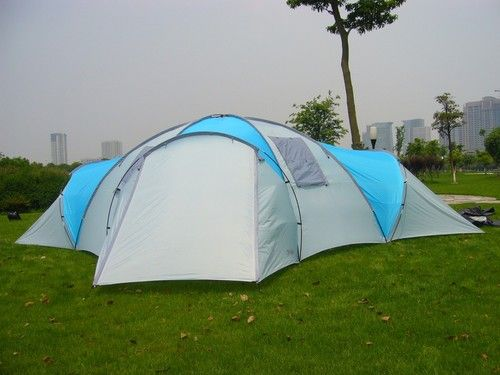 Huge 8-12 Person   ROCKPORT  4 ROOM LARGE FAMILY CAMPING TENT NEW & Huge 8-12 Person