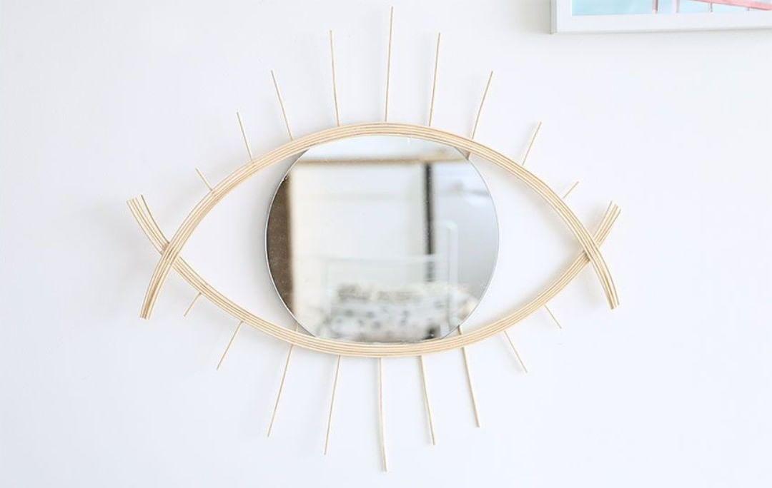 Pour recouvrir un mur et décorer votre intérieur, le miroir est …