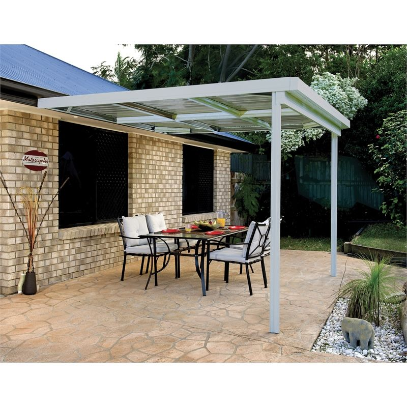 Absco Sheds 3 0 X 3 0 X 3 0m Awning Patio Cover Zincalume Fix
