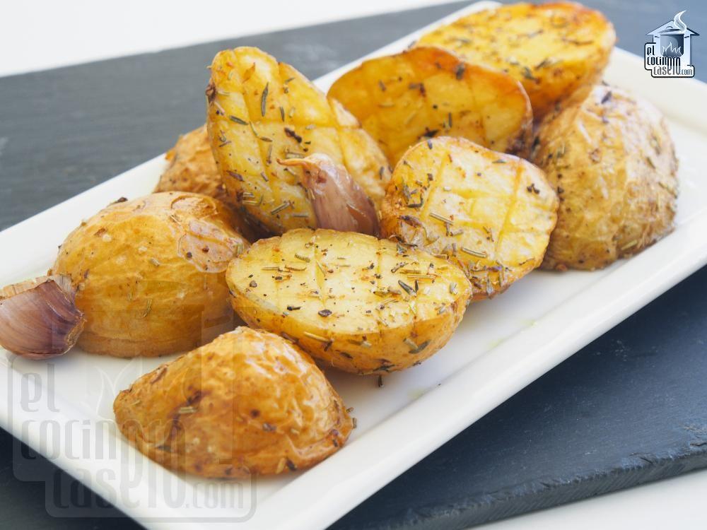 Patatas con especias al horno