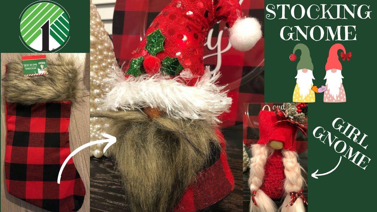 Dollar Tree Christmas Gnomes Youtube Dollar Tree Christmas Christmas Gnome Christmas